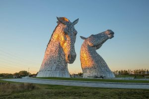 The Kelpies. Image: The Helix