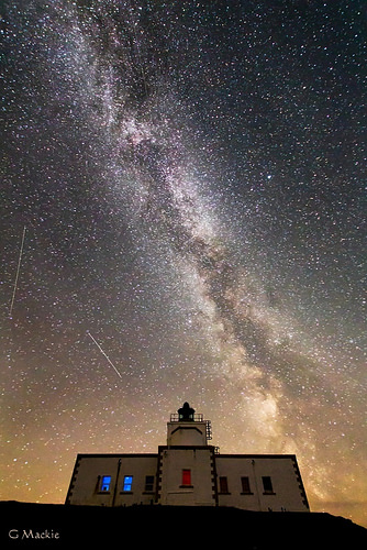 The Milky Way in Dark Skies over Caithness Image: Gordon Mackie, Caithness Astronomy Group