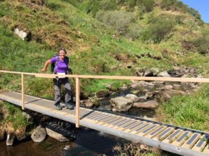 One of the new bridges on the John O'Groats Trail