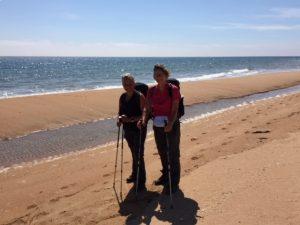 The Sandras on Helmsdale beach