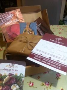 box of venison